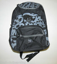 ECKO UNLIMITED Backpack New Black Travel Graffiti