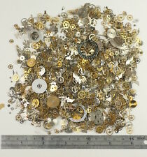 HUGE PACK 100g 50g Watch parts STEAMPUNK ALTERED ART CRAFTS CYBERPUNK cogs gears