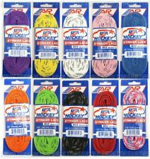 A&R USA WAXED SKATE LACES - VARIOUS COLOURS AND SIZES AVAILABLE