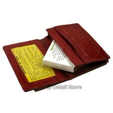 New EEL SKIN Credit/Business Card/id Loading/Holder/Soft Case/Wallet/Carrier