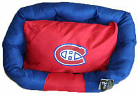 NHL Pet Bed Montreal Canadians - SAVE UP TO 40%! www.pamperedpetdeals.com