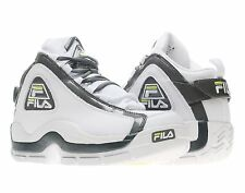 "Fila The 96 ""Grant Hill"" White/Lime Punch Mens Basketball Shoes 1VB90031-153"