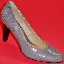 NEW Women's NW SERAPHINA Gray Snake Patent Fashion High Heels Pumps Dress Shoes
