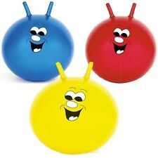 3 x Space Hoppers.  Red / Yellow / Blue.  Kids Spacehopper, pick colour / size