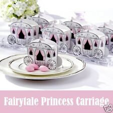 Fairytale Princess Carriage Wedding Favour Boxes Gift Boxes Sweet Boxes UK Sale