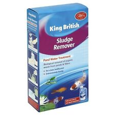 King British Pond Sludge Remover 250ml Or 500ml Pond Water Treatment Koi Carp