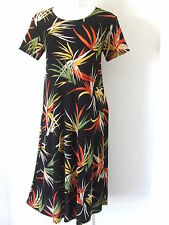 Travel Knit Dress, Long A-Line Short slv, NEW, stretchy wash&wear poly/span #679