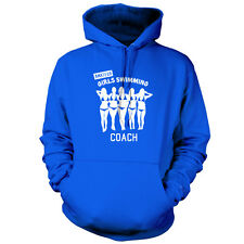 Amateur Girls Swimming Coach - Unisex Hoodie - 9 Colours - Funny - Comedy - Swim