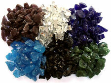Glass Chippings / Gravel / Stones for Graves Garden Paths Vases Decoration