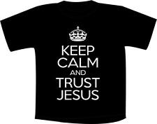 Keep Calm And Trust Jesus T Shirt Christian