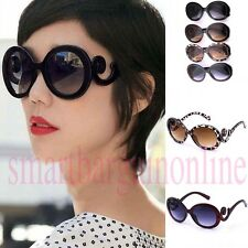 Hot Retro-inspired Women Butterfly Clouds Arms Sunglasses Semi Transparent Round