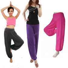 1 Women's Gym Casual Fitness Yoga Sweat Pantalets Sporting Pants Baggy Trousers
