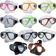 RX Prescription Optical Lens Snorkel Scuba Dive Medium Purge Mask Snorkeling USA