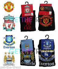 Official Boys Kids Man Utd Man City Everton Liverpool Football Socks All Sizes