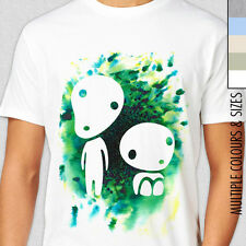 KODAMA TREE SPIRITS T-SHIRT. Rare Studio Ghibli, Princess Mononoke, Japan Totoro