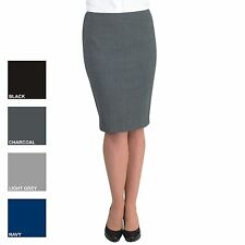 New BROOK TAVERNER Womens Ladies Numana Smart Work Skirt 4 Colours Size 8-20