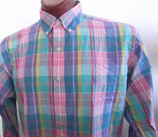 NWT Ralph Lauren Button Down Dress Shirt Multicolor Plaid Assorted Sizes