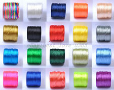 New Comming Nylon Chinese Knot Beading Jewelry Cords Thread 1.5MM 2MM 2.5MM Dia