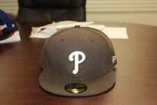 Philadelphia Phillies MLB Brown White New Era 59 Fifty Fitted Hat Authentic