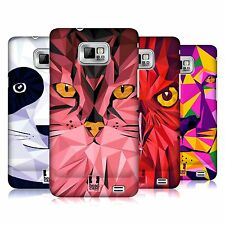 HEAD CASE DESIGNS GEOMETRIC ANIMAL CASE COVER FOR SAMSUNG GALAXY S2 II I9100