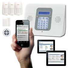 Professional Wireless Alarm Kit control & Monitor with Smartphone Android or PC