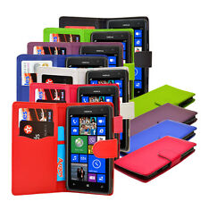 Smart Pu Leather Credit Cards Flip Wallet Phone Case Cover For Nokia Lumia 625