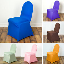 10 SPANDEX High Quality Stretchable CHAIR COVERS Party Wedding Decorations