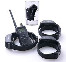 LCD 1000M Rechargeable Multi-Dog Remote Control Waterproof Dog Training Collar