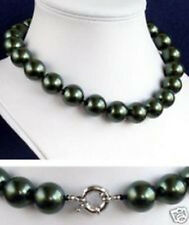 new 6-20mm south sea black Shell Pearl Necklace AAA