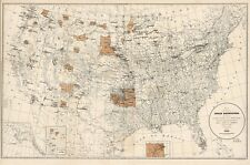 1888 UNITED STATES INDIAN RESERVATION BIA MAP