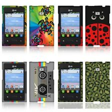 Designer Hard Protector Case Cover for LG Optimus Logic L35g Dynamic L38c