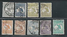 Australia - KGV 1913/14 - Sg 1 to 19 - Select from Mulitple Listing - Used