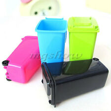 Wheelie Mini Wheelie Bin Desk Tidy Can Pen Holder Stationery Organiser Office