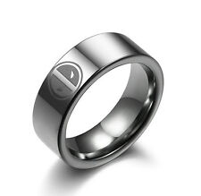 Super Hero Deadpool Stainless Steel Ring Necklace Pendant Boy Child Man Fashion