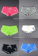 New Hollister Womens Hco Curved Hem Sport Short-Shorts ALL SIZES & COLOR!!