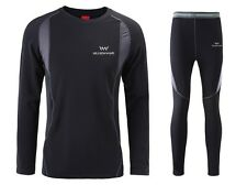 New Men's Outdoor sports thermal underwear Hot-Dry technology surface N838