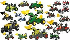 Rolly Toys Farm Trac Track Full Range Of Ride On Pedal Tractors - x trak