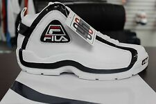 Men's Fila 96 Basketball Grant Hill Retro White Black Red Brand New in Box