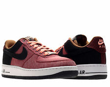 Nike Air Force 1 Noble Red/Black Mens Basketball Shoes 488298-612