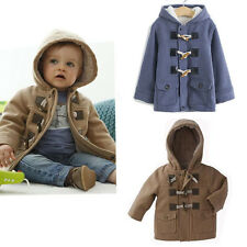 1pcs NWT Baby Boys Toddler Winter Warm Cotton Fleece hoodies Coat Jacket