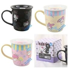 SANRIO HELLO KITTY MY MELODY LITTLE TWINS STAR CERAMIC MUG WITH LID 1310