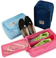 Travel Trips Outdoor Shoes Organizer Storage Zipper Dust Bags Tote Waterproof