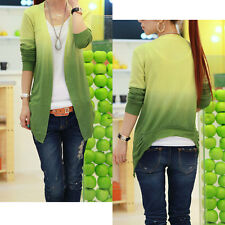 Korean New Women's Long Sleeve Sweet Slim Cardigan Thin Knitted Sweater Autumn