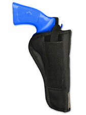 "Barsony OWB Belt Loop Gun Holster for 22 38 357 41 44 Ruger 6"" Barrel Revolvers"