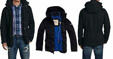 2013 Hollister by Abercrombie Mens Little Dume Parka NWT