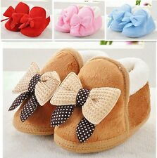 New Infant Baby shoes Walking Toddler Girls Boys Crib Shoes Soft Boots 3-12Month