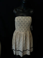 SEQUIN HEARTS BY MY MICHELLE STRAPLESS LACE DRESS WWT