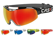 Casco Helme Spirit Carbonic Nordic Shield Cross Country Ski Racing Goggles