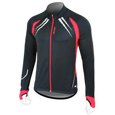 Winter Bike Bicycle Cycling Men's Sports Outdoor Long Sleeve jersey XS~L