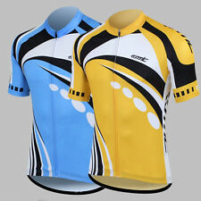PJ Men's Casual Outdoor Sports Short Sleeve Cycling jersey 5 Size XS~XL